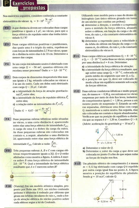Exercícios - Coulomb